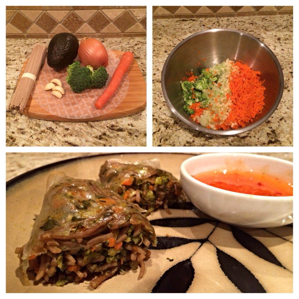 Meatless Monday: Veggie Spring Rolls