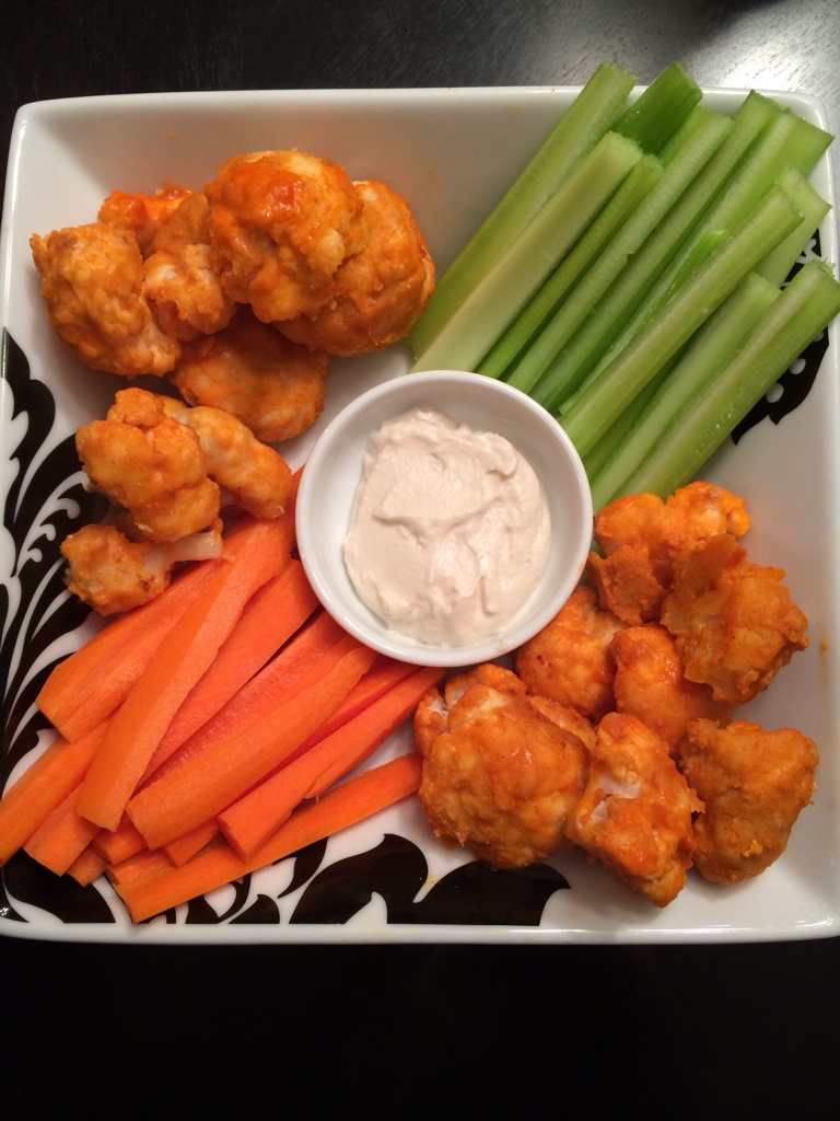 Meatless Buffalo Wings