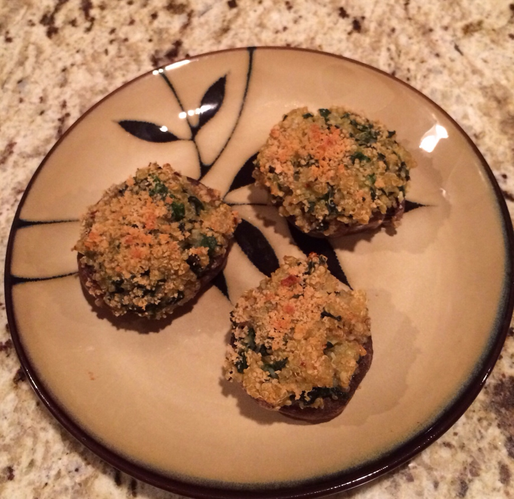 Meatless Monday: Stuffed Mushrooms