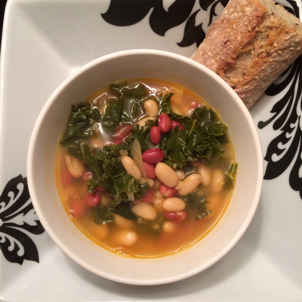 Spicy Kale Soup
