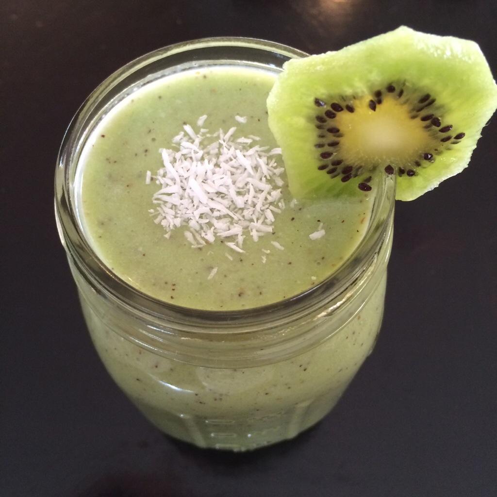 Kiwi Coconut Smoothie