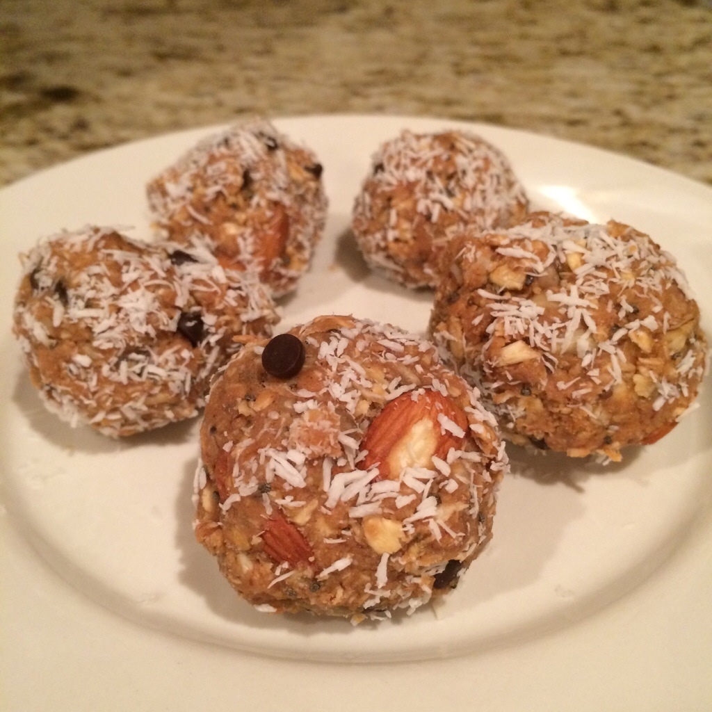 Almond Joy Energy Balls
